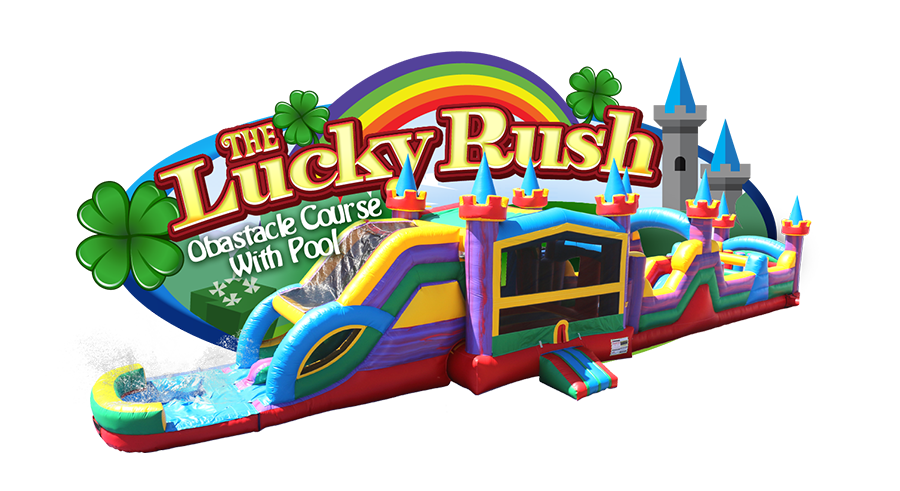 Lucky Rush Obstacle Course with Pool