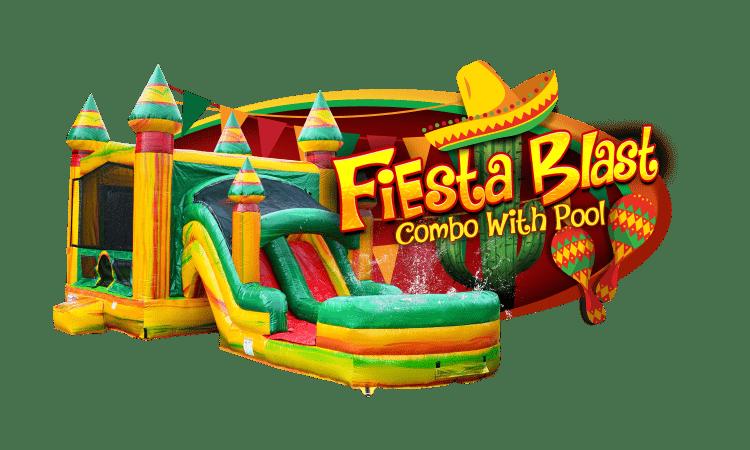 Fiesta Blast combo w/pool