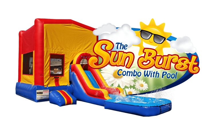 SUN BURST combo w/pool