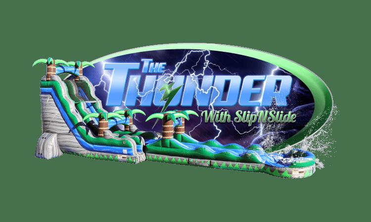 THUNDER w/ slip n slide & pool