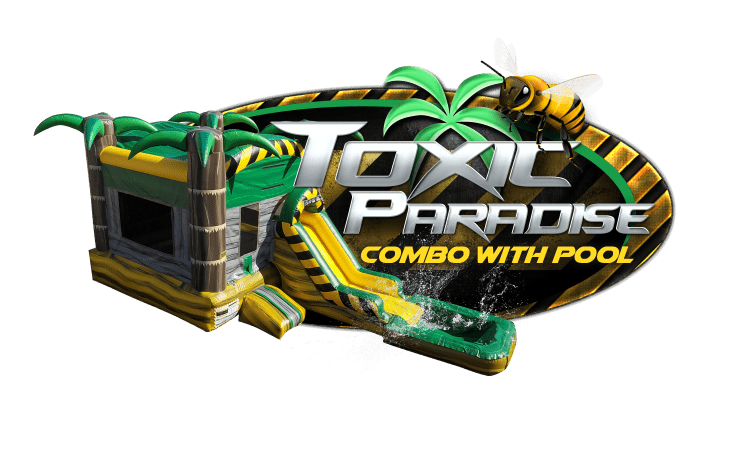 TOXIC PARADISE combo w/pool
