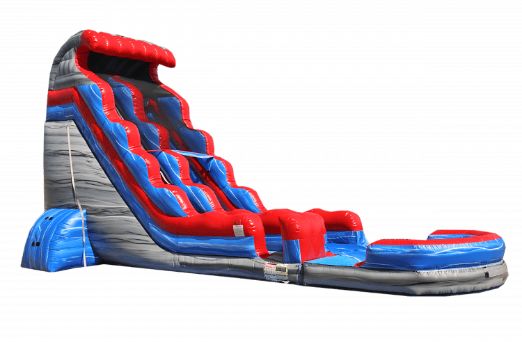 ALL AMERICAN water slide w/pool
