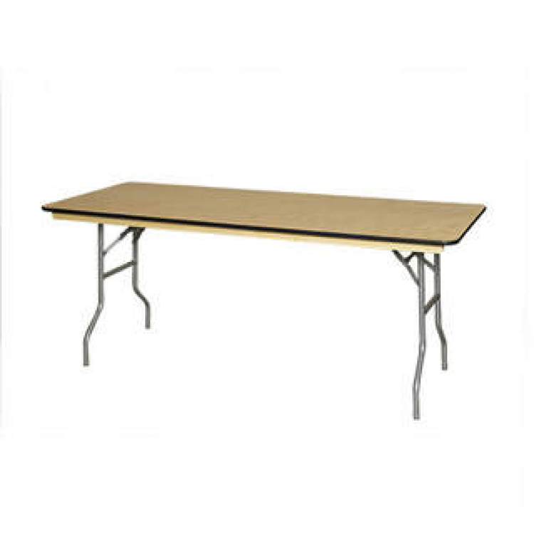 6' Wood Table
