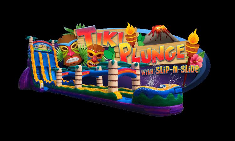 TIKI PLUNGE with slip-n-slide