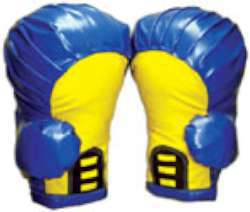 Boxing Gloves (Blue, pair L)
