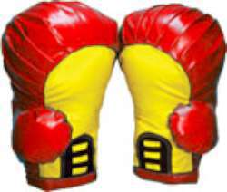 Boxing Gloves (Red, pair M)