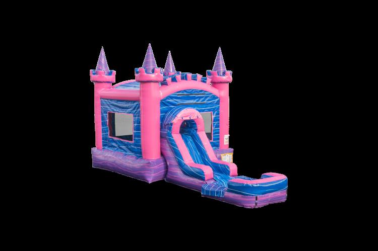 PINK CASTLE COMBO w/pool