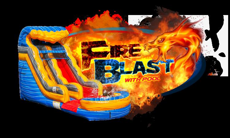 FIRE BLAST JR w/pool